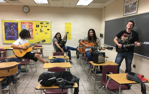 Guitar Club Rocks Out