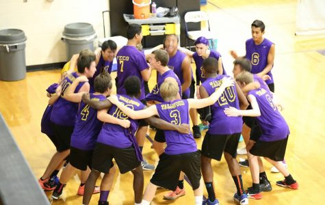 Boys' Volleyball Begins Conditioning