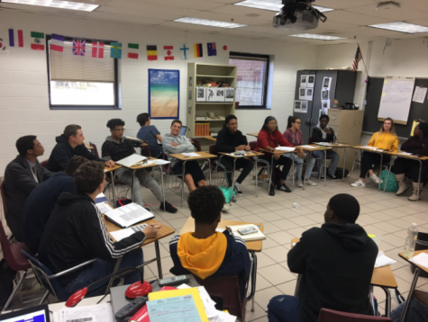 """Where do you see yourself in five years?"": Mock job interviews with Tallwood students"