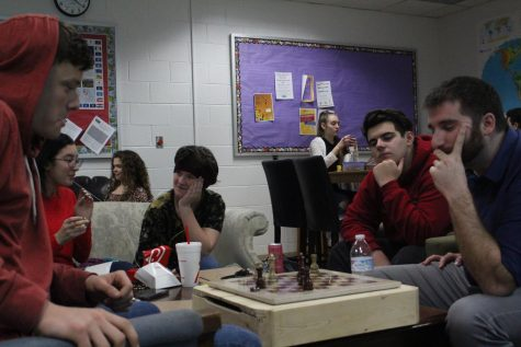 Students see Lion Lunch as a time to socialize and seek academic help