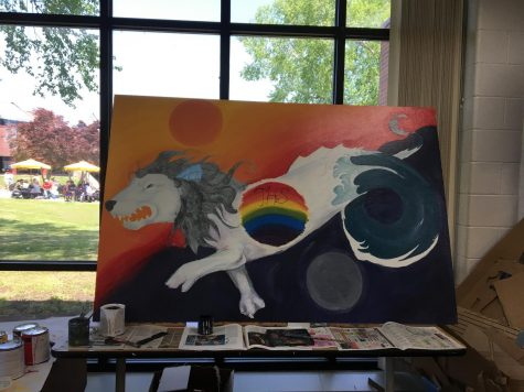 Art Students bring Tallwood Creativity to Life: Tallwood Students Participate in City-Wide Art Competitions