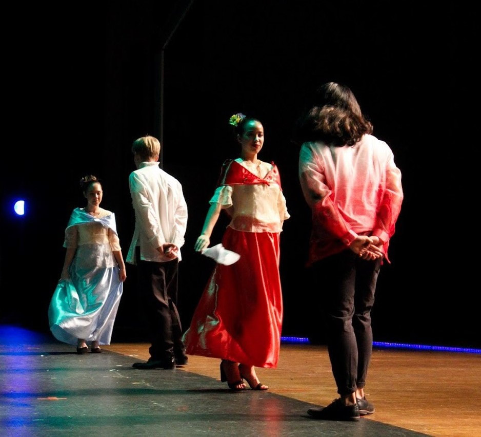 The Tallwood Filipino Culture Club performing at the 2018 Global Gala.