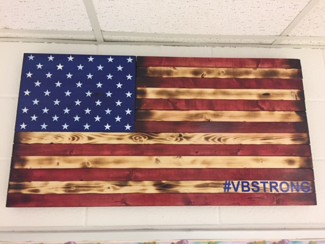 Tallwood's VBStrong flag is courtesy of Mr.. Rotella.